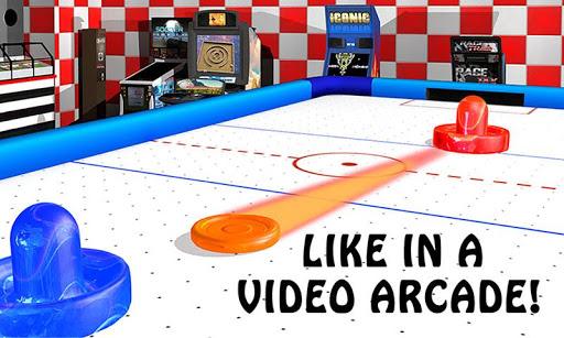 Air Hockey - Ice to Glow Age screenshots 2