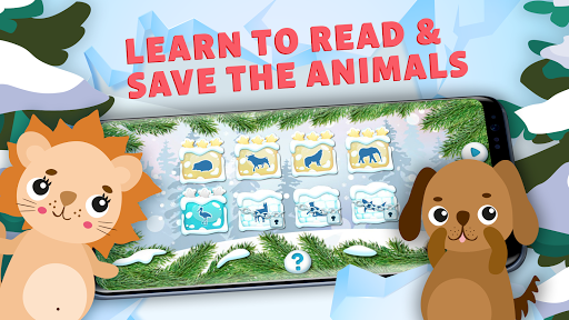 Learn to Read & Save Animals, English Phonics ABC