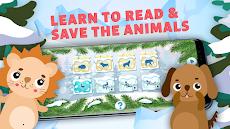 英語、読み方を習って動物たちを助ける。英語ABCを学ぶ教育ゲーム。のおすすめ画像5