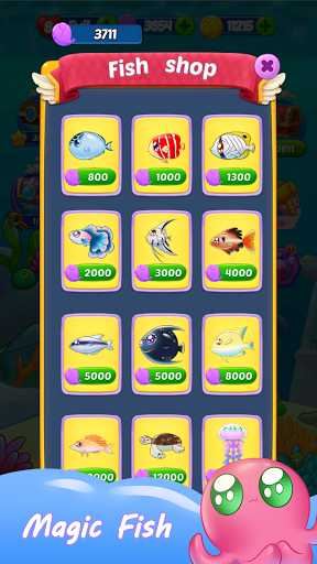 Fish Crush Puzzle Game 2021  screenshots 4