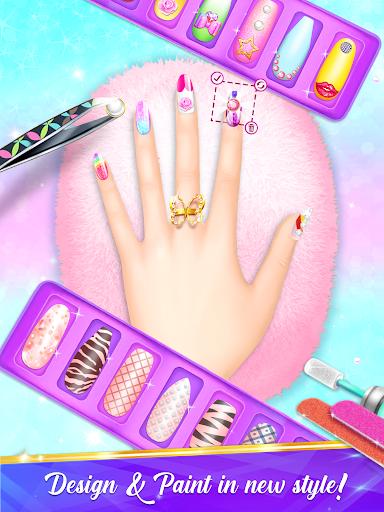 Nail Salon Manicure - Fashion Girl Game apkmr screenshots 7