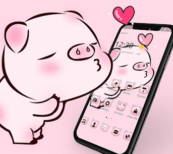 Pink Cute Love Piggy For Pc – Free Download In 2020 – Windows And Mac 1