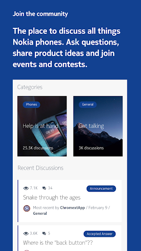 My phone: the official app for Nokia phones screenshots 4