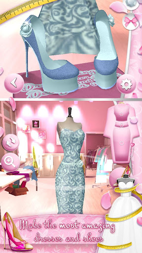 Wedding Dress Maker and Shoe Designer Games 4.2.2 Screenshots 1