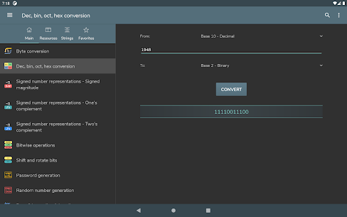Computer Science Calculations MOD APK (Pro/Paid Unlocked) 8