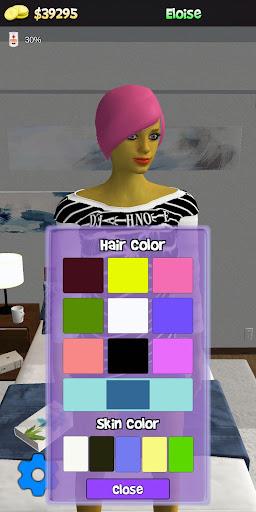 My Virtual Girl at home Pocket Girlfriend Shara 3D  screenshots 2
