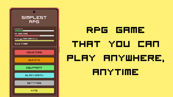 Simplest RPG Game - Text Adventure Screenshot