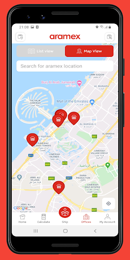 Aramex Mobile 4.1.4 release Screenshots 5