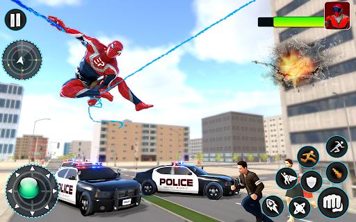 Flying Robot Hero - Crime City Rescue Robot Games 1.7.7 Screenshots 11