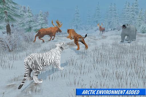 Tiger Family Simulator: Angry Tiger Games apkdebit screenshots 15
