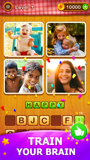 4 Pics Guess 1 Word - Word Games Puzzle 3.3 Screenshots 6
