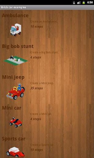 Brick car examples 3.5 screenshots 1