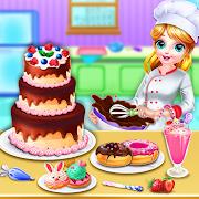 Sweet Bakery Chef Cake Game-Baking Games For Girls