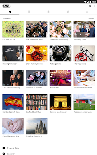 BAND – App for all groups 6