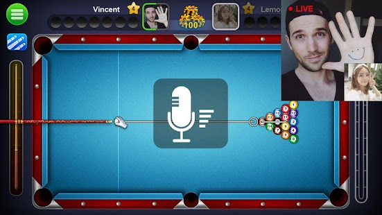 8 Ball Live - Free 8 Ball Pool, Billiards Game Screenshot