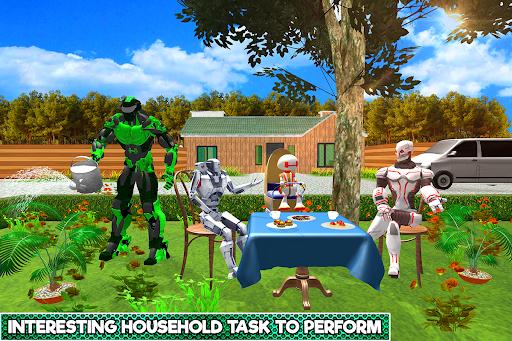 Robotic Family Fun Simulator apkpoly screenshots 4