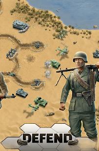1943 Deadly Desert - a WW2 Strategy War Game screenshots 2