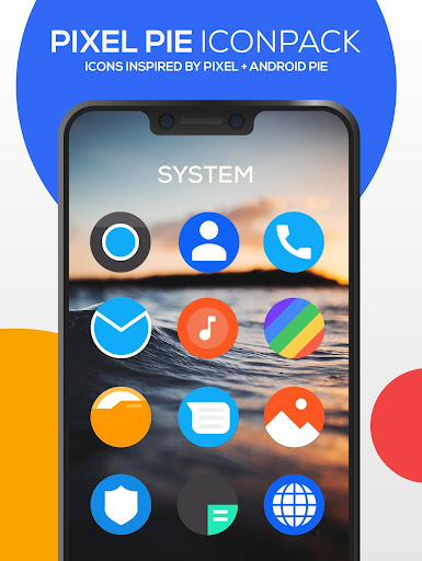 Download APK: Pixel Pie Icon Pack v3.9 [Patched]