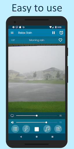 Relax Rain - Rain sounds: sleep and meditation android2mod screenshots 1