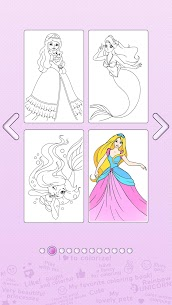 Girls Coloring Book – Color by Number for Girls 2.3.0.0 APK Mod Updated 3
