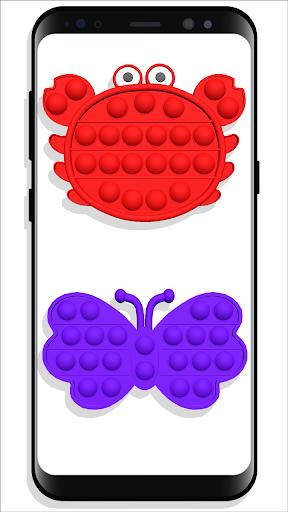 pop it Fidget Cubes - calming sounds making toys screenshots 1