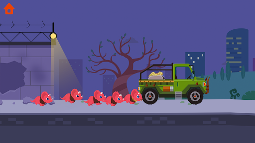 Dinosaur Police Car - Police Chase Games for Kids 1.1.3 screenshots 1