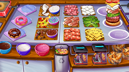 Cooking Urban Food - Fast Restaurant Games 8.7 screenshots 1