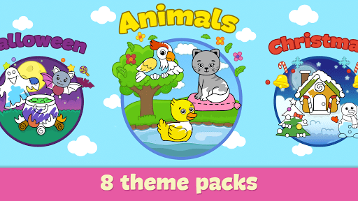 Coloring and drawing for kids  screenshots 4