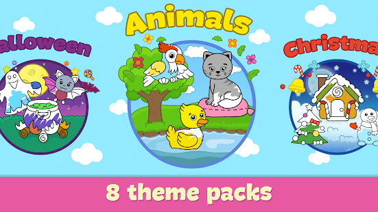 Coloring and drawing for kids 3.111 Screenshots 4