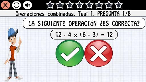 Matemáticas 12 años 1.0.20 screenshots 2