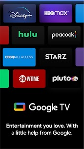 Google TV (previously Play Movies & TV) – APK Mod for Android 1