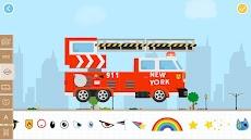 Labo 子供のためのレンガのCar2ビルドゲーム-パトカー消防車トラックの作成とレースゲームのおすすめ画像4