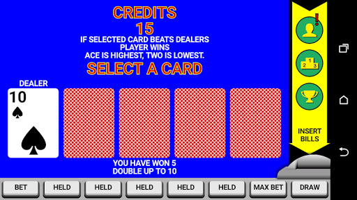 Video Poker Classic Double Up 6.20 screenshots 3