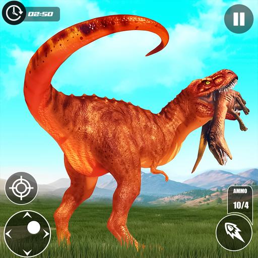 Wild Dinosaur Hunting Games