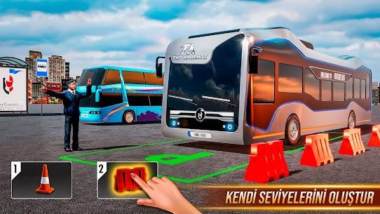 Sürüş Otobüs Park Etme Oyunu 2020: Otobüs oyunları 2