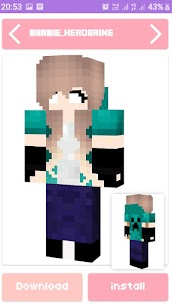 Free Barbie Skin amp  Maps House For MINECRAFT PE Apk Download 2021 4