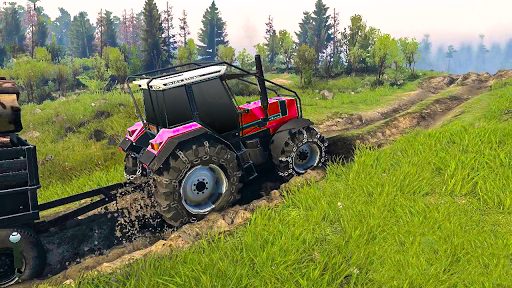 Tractor Pull & Farming Duty Game 2019 1.0 screenshots 1
