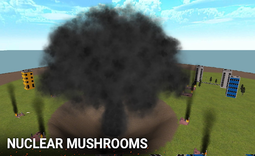 Nuclear Bomb Simulator 3D MOD APK 3.0 (Unlimited Missile) 3