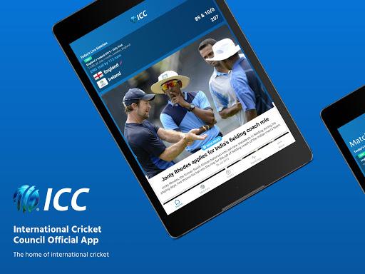 ICC - Live International Cricket Scores & News  screenshots 9