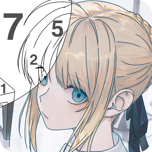 Paint Anime - Color By Number