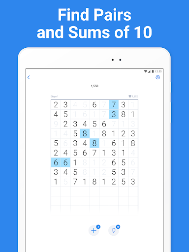 Number Match - puzzle game  screenshots 6