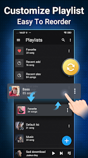 Musik für Android-Audio Player Screenshot