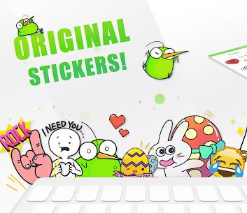 Download Kiwi Keyboard–Emoji Original Stickers in Your PC (Windows and Mac) 1