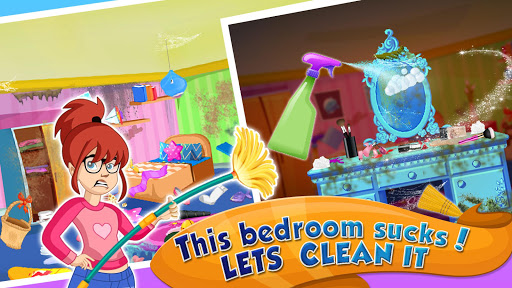 Girl House Cleaning: Messy Home Cleanup screenshots 9