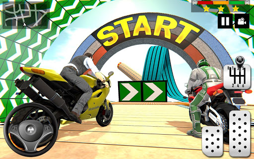 Impossible Stunts Bike Racing Games 2018: Sky Road 1.6 screenshots 2