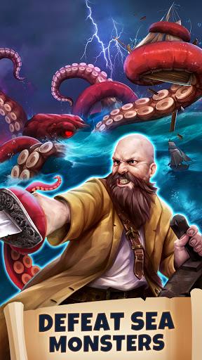 Pirates & Puzzles - PVP Pirate Battles & Match 3  screenshots 4
