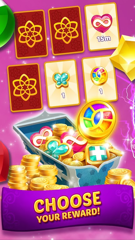 Genies & Gems - Match 3 Game poster 4