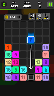 Drag And Merge Puzzle