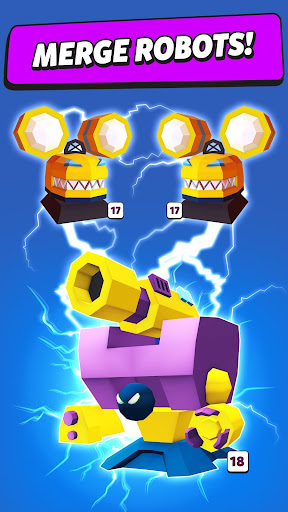 Merge Tower Bots apkslow screenshots 2
