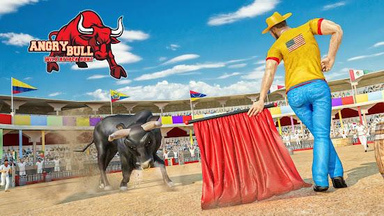 Angry Bull Attack Wild Hunt Simulator 1.4 screenshots 1